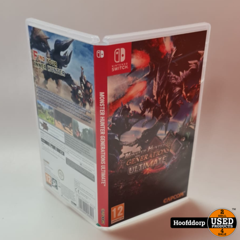 Nintendo Switch Game : Monster Hunter Generations Ultimate