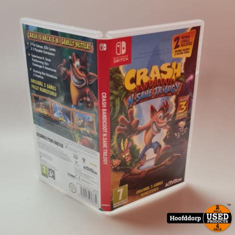 Nintendo Switch Game : Crash Bandicoot N.Sane Trilogy