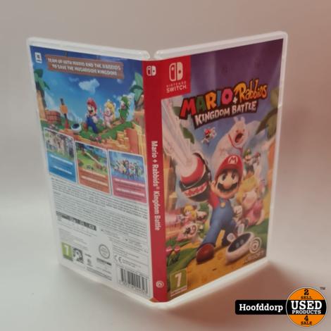 Nintendo Switch Game : Mario + Rabbits Kingdom Battle