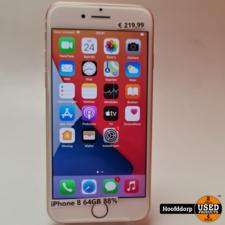 iPhone 8 64GB Rose Gold Nieuwstaat | Met Garantie
