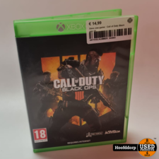 Xbox one game : Call of Duty Black ops IIII