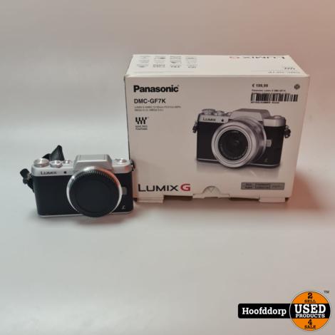 Panasonic Lumix G DMC-GF7K Systeem Camera Compleet in Doos