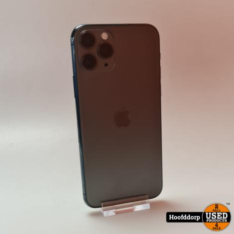 iPhone 11 Pro 64GB Midnight green Redelijke staat
