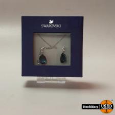 Swarovsk iRhodium Plated Vintage Non Precious Alloy Crystal Jewellery Set