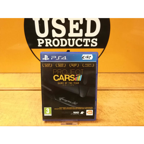 Project Cars game of the year edition | Playstation 4 / PS4