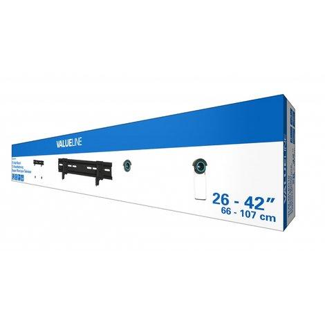 Valueline tv-muurbeugel ultra flat 26 - 42