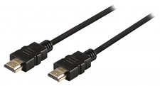 High Speed HDMI kabel met Ethernet HDMI-Connector - HDMI-Connector 1.20 m Zwart