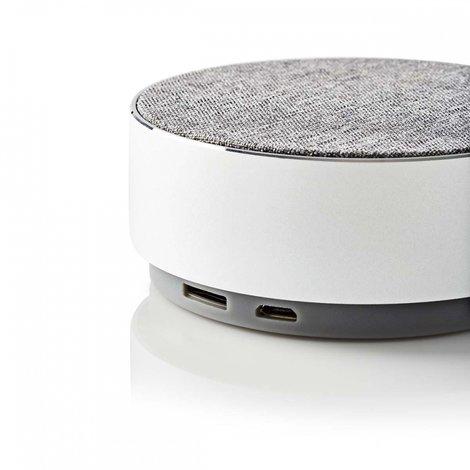 Luidspreker met Bluetooth® | 9 W | Metaalbewerkt ontwerp | Aluminum-zilver