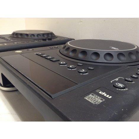 2x Reloop RMP-1 Scratch MK2 table top CD speler - Zwart (Set prijs)