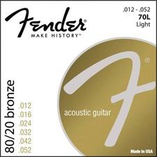 F-70L | Fender 80/20 Bronze snarenset akoestisch