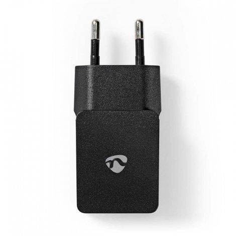 Nedis Wandoplader | 2,1 A | Losse kabel | micro-USB | Zwart