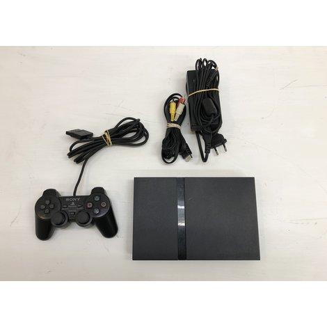 Playstation 2 Slim - Zwart