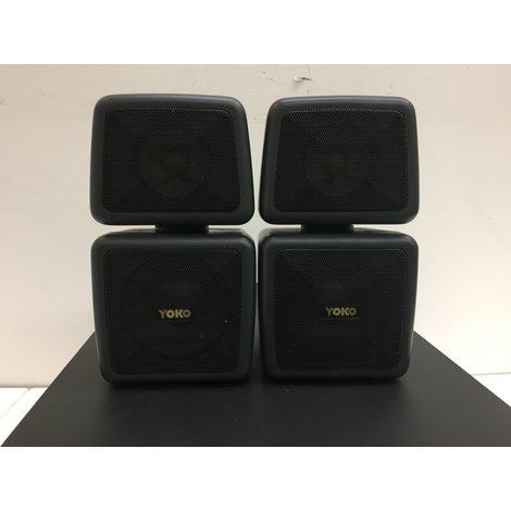 Yoko YSW1000 Subwoofer met 2 Satellietluidsprekers