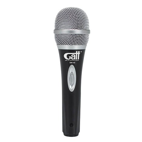 DM-40   Gatt Audio dynamische microfoon
