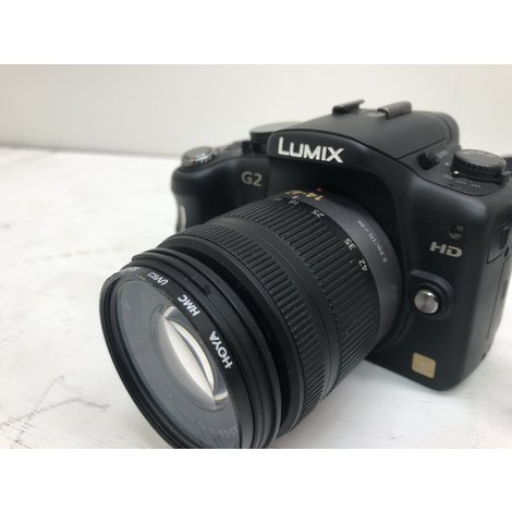 Panasonic Lumix DMC-G2 + 14-42mm - Zwart