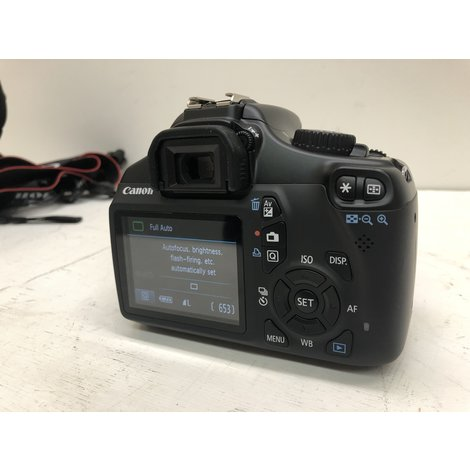 Canon EOS 1100D + 18-55mm IS II Lens