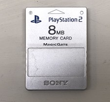 Sony PS2 Memory Card 8MB - Zilver