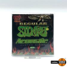 Ernie Ball 2146 Acoustic Guitar Regl Slinky 012 - 054 snarenset