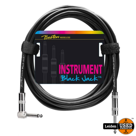 GC-230-6 | Boston Black Jack instrumentkabel 6 meter