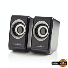 Nedis PC-luidspreker | 2.0 | 18 W | 3,5 mm jack