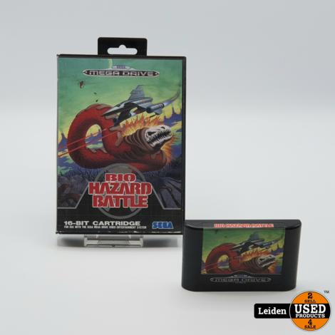 Bio Hazard Battle Sega Mega Drive