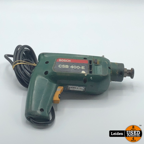Bosch CSB 400-E Boormachine + Cirkelzaag
