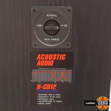 Acoustic Audio H-CD12 Luidsprekers