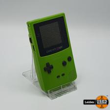 Nintendo Gameboy Color - Groen