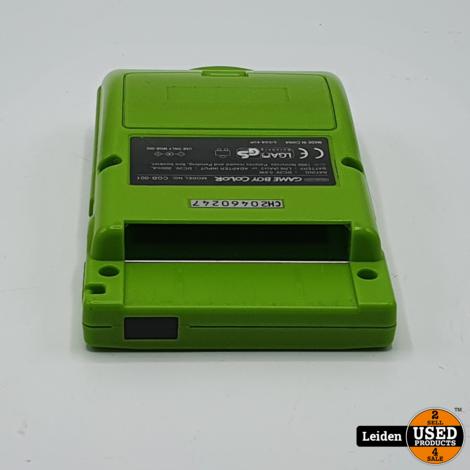 Gameboy Color - Groen
