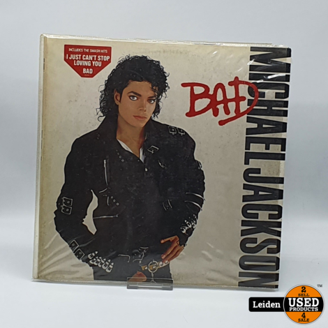 Michael Jackson – Bad (Epic – 450290 1)
