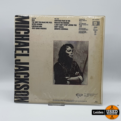 Michael Jackson Bad (Epic – 450290 1) Joegoslavie