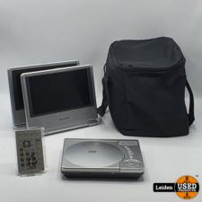 Solora Salora DVP7020 2x7inch Portable Dvd Speler