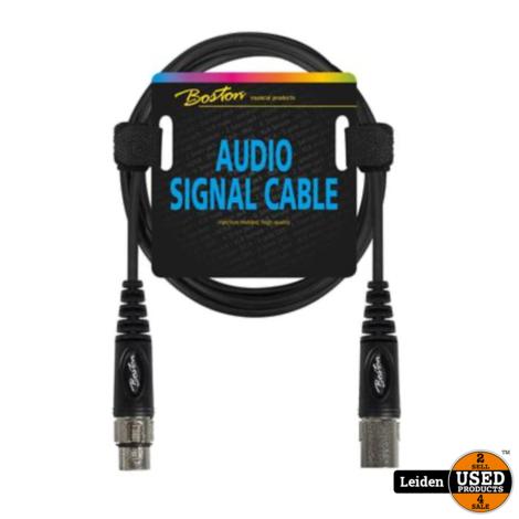 AC-298-150 | Boston audio signaalkabel XLR female naar XLR male, 1.5 meter