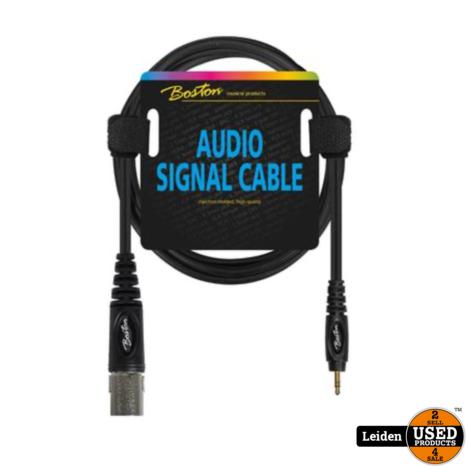 AC-286-300   Boston audio signaalkabel XLR male naar 3.5mm jack stereo, 3 meter