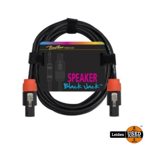 SC-230-5 | Boston Black Jack speakerkabel 5 meter, speakon + speakon, 2 x 1,5mm