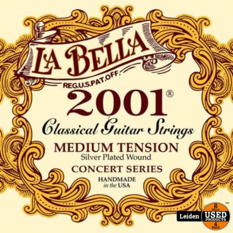 L-2001M | La Bella 2001 Series snarenset klassiek