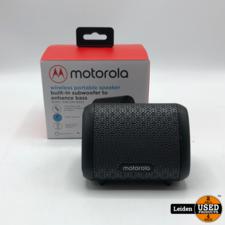 Motorola Motorola Sonic Sub 240 Bass speaker - draadloos - zwart - waterproof IPX5