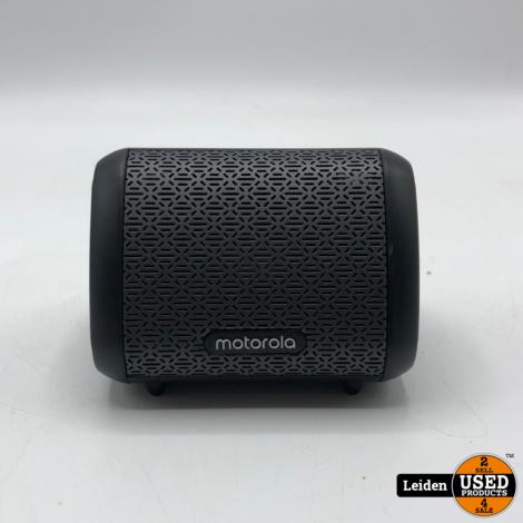 Motorola Sonic Sub 240 Bass speaker - draadloos - zwart - waterproof IPX5