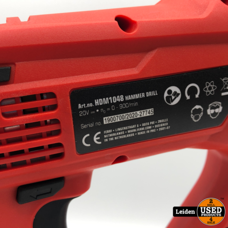 Ferm HDM1048 AX-Power Boormachine