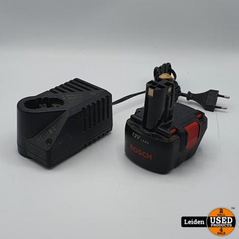 Bosch Acculader AL 60 DV 1411 + Accu