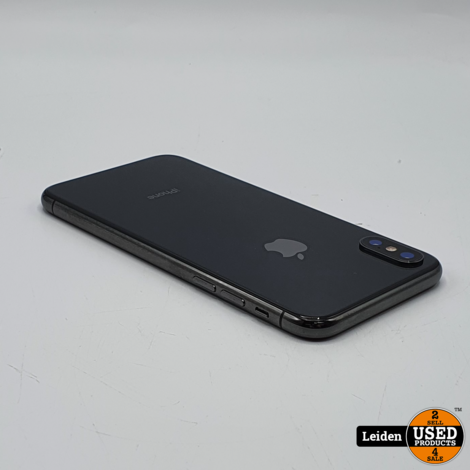 iPhone X 64GB - Space Gray | Topstaat | Accu 85% | Incl. 1 jaar Garantie