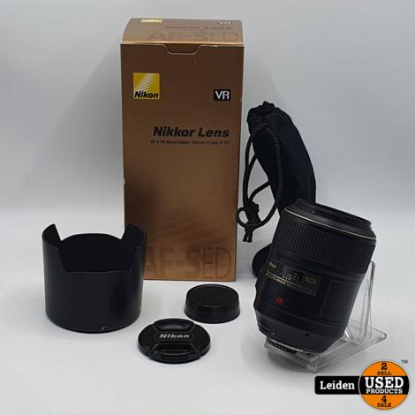 Nikon AF-S 105mm F/2.8 G IF-ED VR Micro Lens