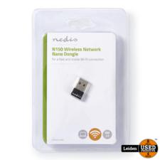 Nedis Wireless Network Dongle | N150 | 2.4 GHz | Zwart