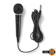 Bedrade Microfoon | Gevoeligheid -75 dB +/-3 dB | 80 Hz - 12 kHz | 5,0 m