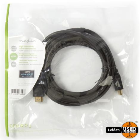 High Speed HDMI™-kabel met Ethernet | HDMI™-connector - HDMI™-connector | 3,0 m | Zwart
