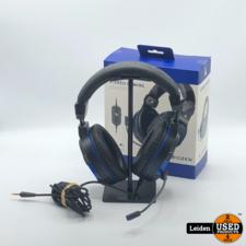 Bigben Playstation 4 Stereo Gaming Headset - Zwart/Blauw