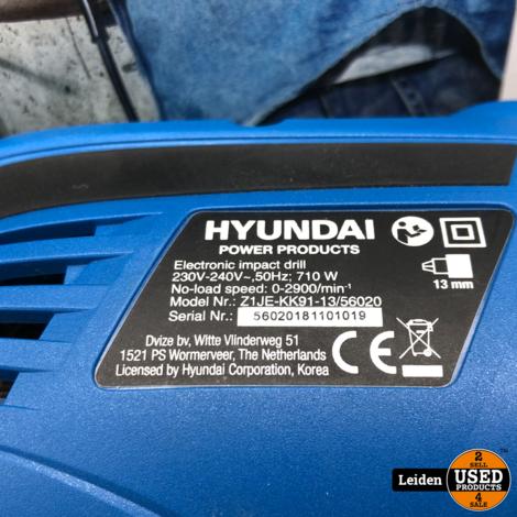 Hyundai Boormachine