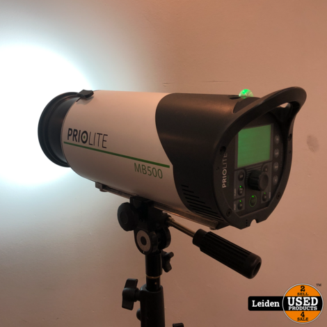 Priolite MB500 Kit 1 Studioflitsset