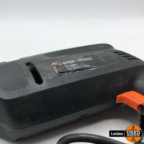 Black+Decker BD 500R Boormachine