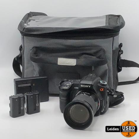 Sony DSLR-A200 + 18-70mm Kit